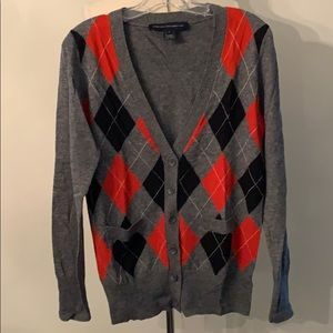 French Connection Wool blend Cardigan - new sz L